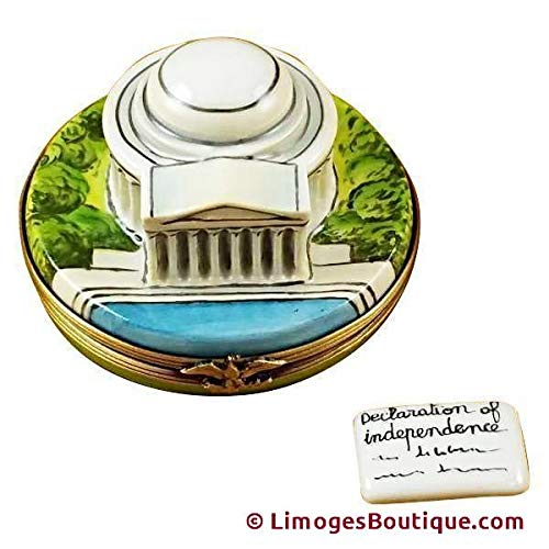 Jefferson Memorial - French Limoges Boxes - Porcelain Figurines Collectible Gifts
