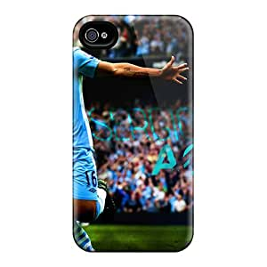 Apple Iphone 4/4s CIe21357InSB Unique Design High-definition The Famous Fc Of England Manchester City Pictures Shock-Absorbing Hard Phone Covers -ErleneRobinson