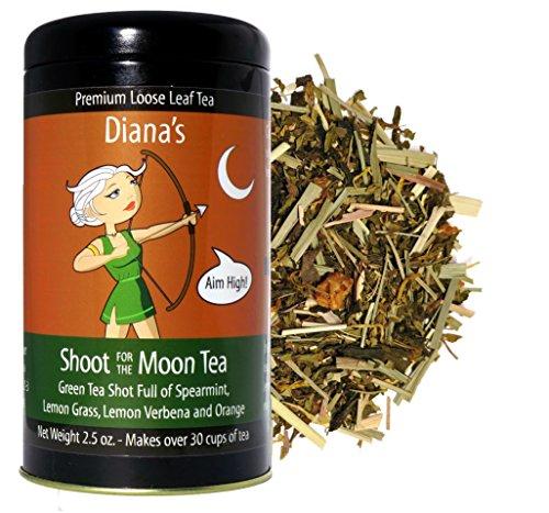 Dianas Shoot for the Moon Tea (Spearmint, Lemon Grass & Orange Green Tea)