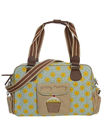 Pink Lining Yummy Mummy Diaper Bag, Sunflowers
