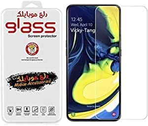 Dl3 Mobilk Tempered Glass For Screen Protector For Samsung Galaxy A80 / A90 - Clear