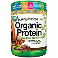 Purely Inspired Organic Protein Powder, Decadent Chocolate,1.5 pounds