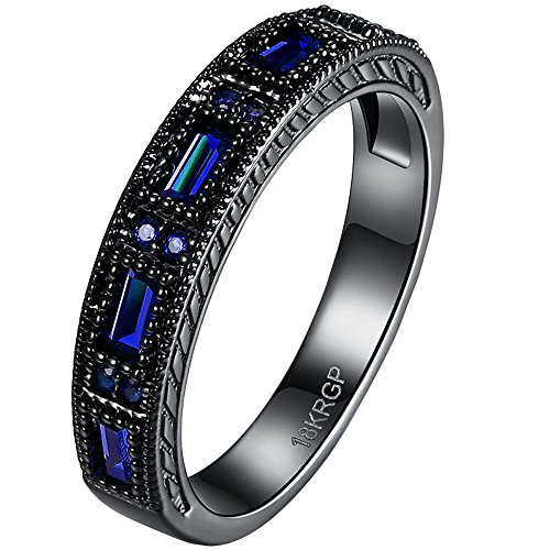 BOHG Jewelry Fashion Sapphire Eternity