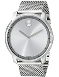 Movado Mens 3600260 Bold Stainless Steel Watch