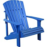LuxCraft Recycled Plastic Deluxe Adirondack Chair Review