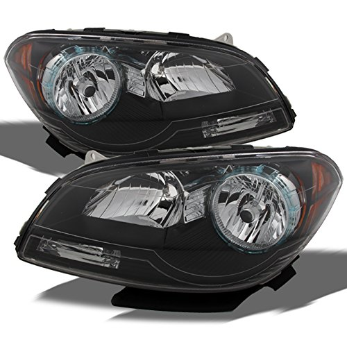 - For Chevy Malibu OE Replacement Black Bezel Headlights Driver/Passenger Head Lamps Pair New