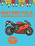 MOTORCYCLE COLORING BOOK FOR KIDS: Adults Scooter