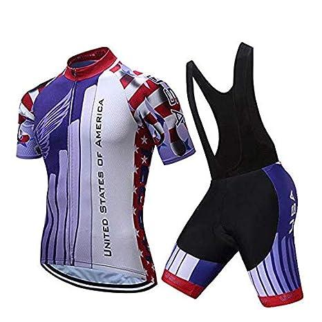 MMMMM Conjunto de Jersey de Ciclismo Ropa de Ciclismo de Bicicleta ...