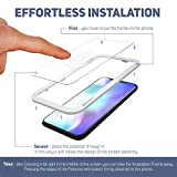 Screen Protector for iPhone Xs/X Glass by WITKEEN Tempered Glass Screen Protector for iPhone Xs/X Glass with Install Guide Frame, Flexible, Compatible with Apple iPhone Xs/X Cases, (2-Pack)