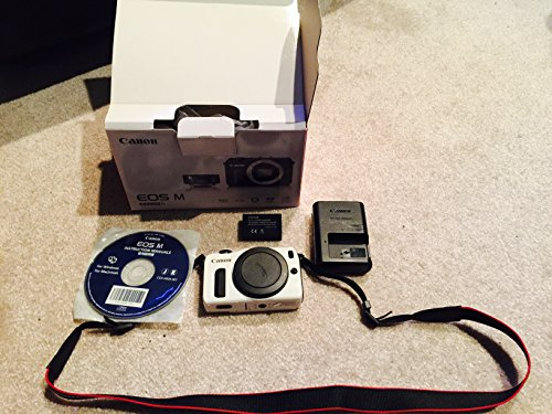 Canon EOS M Compact System Camera - Body Only (White)