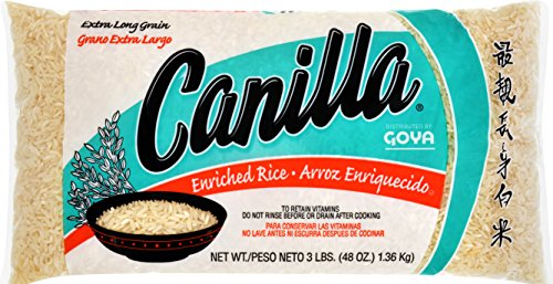 Goya Canilla Long Grain Rice, 3 (Canilla Rice)
