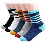 Socks Boys girls Kids 5-Pack unisex Fashion Crew Socks - Winter Autumn