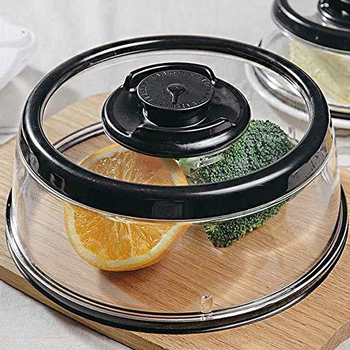 (Aviat Reusable Vacuum Food Sealer Crisper Kitchen Instant Vacuum Food Fresh Cover Airtight Storage Tool Savers Sealer Best)
