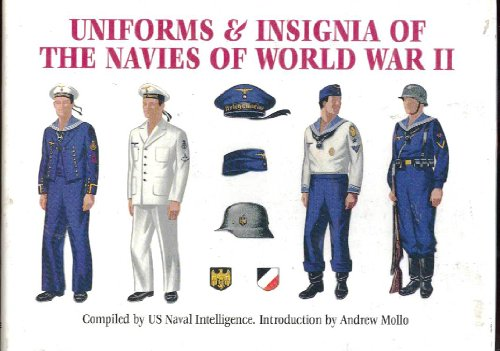 [Uniforms and Insignia of the Navies of World War II] (Ww2 Navy Uniforms)