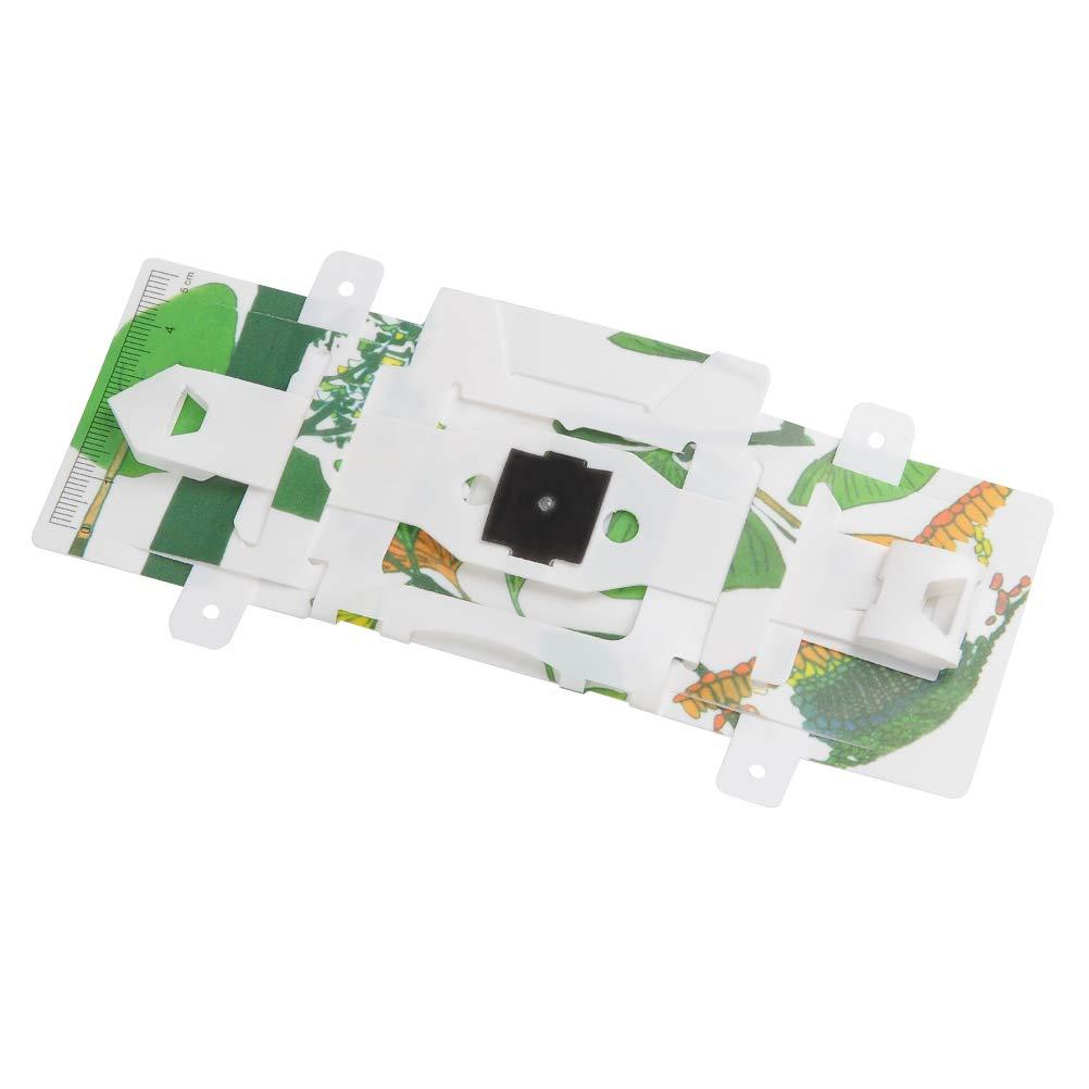 Basic Kit WOWOSS Foldscope Classroom Kit DIY-Papiermikroskop Foldable DIY Paper Microscope