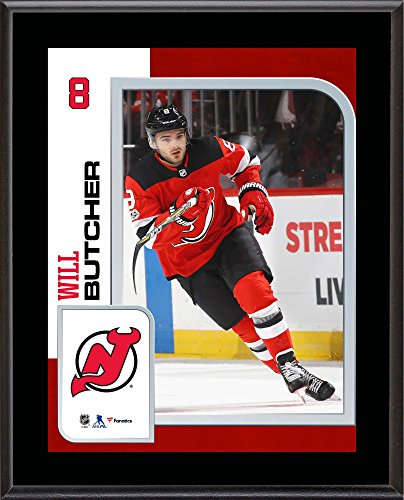 "Will Butcher New Jersey Devils 10.5"" x 13"" Sublimated Player Plaque - NHL Player Plaques and Collages"