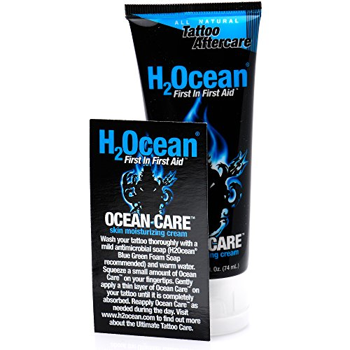 H2ocean Tattoo Aftercare Moisturing Cream 2 5oz Buy