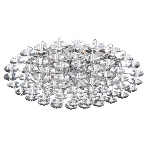Collection Diamente (PLC Lighting 96983 PC 18 Light Ceiling Light Diamente Collection)