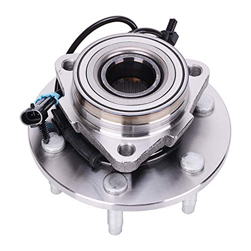 515036 Front Wheel Bearing and Hub Assembly 6 Lug W/ABS 4WD/AWD Fit for Chevrolet Silverado 1500 GMC Sierra 1500 Cadillac Escalade Chevrolet Avalanche 1500