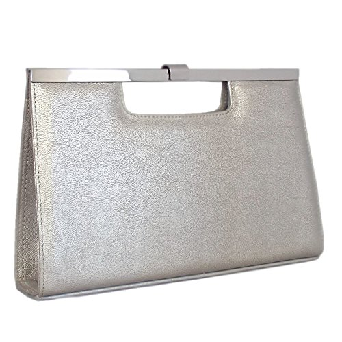 Dressy Multi Satyr Peter Kaiser Toe Chic Peep Scarpe Metalc In Metallico 88prYqw