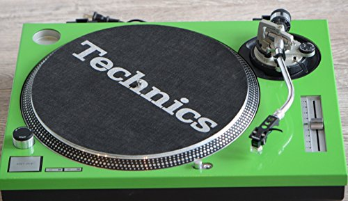 Technics Green Face Plate For Use with SL1200MKII - Turntable Faceplate