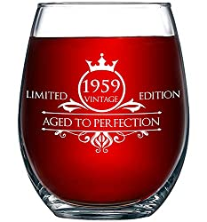 """Ever ask yourself """"I need a perfect gift that lets my loved one know how special they are?"""" This wine glass is the perfect choice for their special birthday! WINE LOVER? WINE ENTHUSIAST? OCCASIONAL WINE DRINKER? The wine glass makes dr..."""