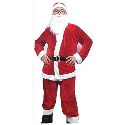 NJFJ Disfraz De Santa Claus Ropa De Navidad, Trajes para ...
