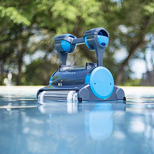 Dolphin Premier Robotic Pool Cleaner (Best Rated Above Ground Pool Vacuum)