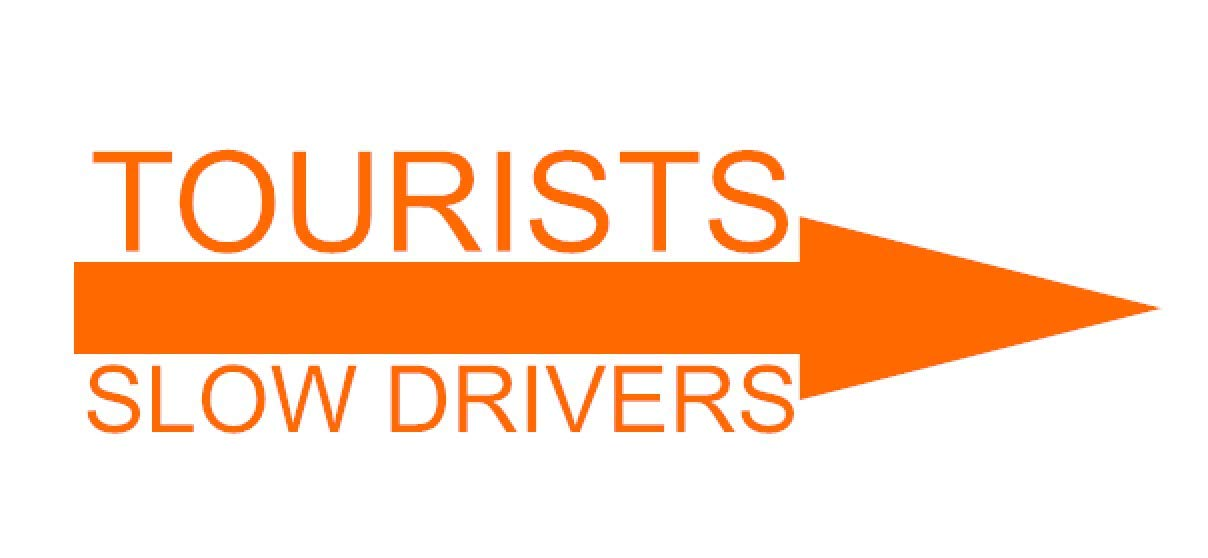 Tourists Right Regular or Mirror Cut Available Slow Drivers Multiple Colors Available