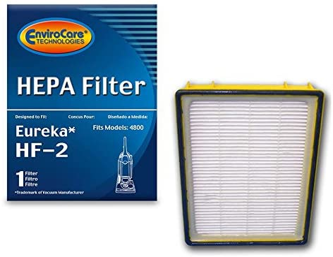 EnviroCare Replacement Eureka Vacuum 4870 Smart Vac Supply Kit Made to fit Eureka RR Vacuum Cleaner 9 Bags /& 1 R Belt /& Hf2 /& 70082 Filter