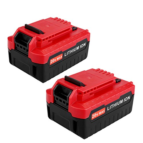 Biswaye 2Pack PCC685L 20V Max Lithium ion 4.0Ah battery Replacement for 20V Porter Cable Battery PCC680L PCC682L Porter Cable 20V Impact Driver Drill Tools Lithium Battery PCC685LP by Biswaye