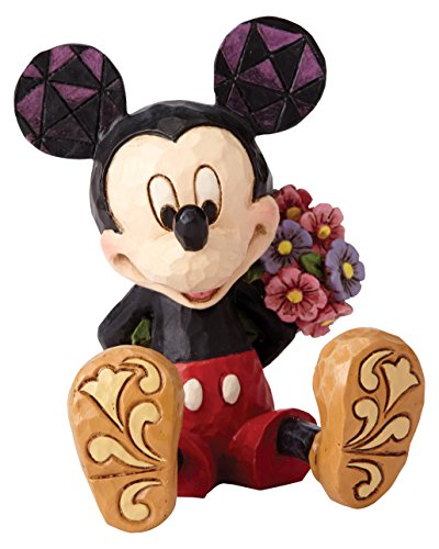 "Art Folk Statue Figurine (Enesco Disney Traditions by Jim Shore Mini Mickey Mouse Personality Pose Stone Resin Figurine, 2.75"")"