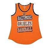 BAL ORIOLES Girls Athletic Tank Top (Vintage Look)