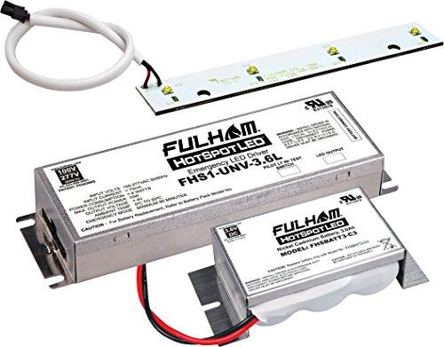Fulham FHSKITT04LNC LED Emergency Battery Back Up Kit by Fulham