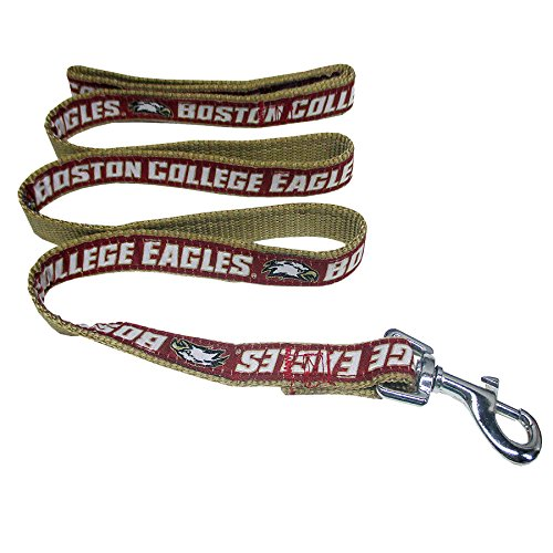 Pets First Collegiate Pet Accessories, Dog Leash, Boston College Eagles, Medium