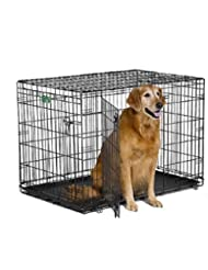 Midwest iCrate Double Door Crate with Divider for Pets, 42-In...