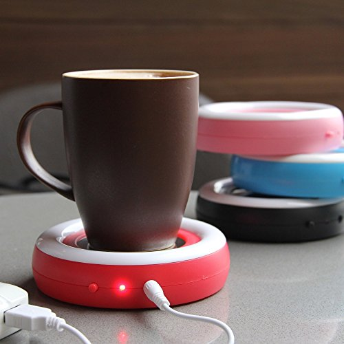 Beverage Warmer   USB Coffee/Tea Cup/Mug Warmer   Keep your Coffee or Tea drink warm for longer time by Ehome (Image #3)