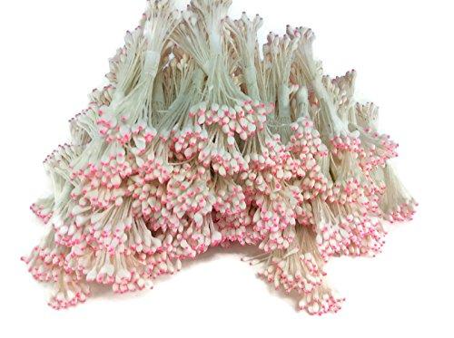 Vine Hanging Bird Feeder (Pollen Pink White Pink Mixed Pollen Water Drop Head Flower Stamen Pollens Stamens Handmade)