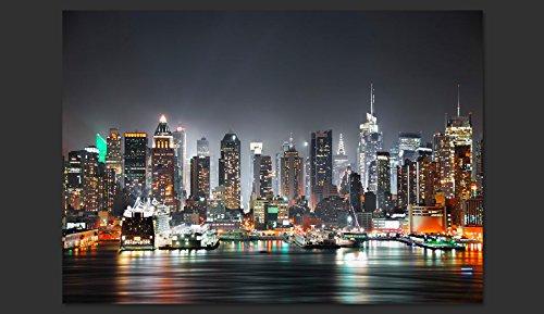 Murando Murando Murando - Fototapete 350x256 cm - Vlies Tapete - Moderne Wanddeko - Design Tapete - Wandtapete - Wand Dekoration - City Stadt New York NY d-B-0032-a-d B01B61Y7IM Wandtattoos & Wandbilder b4af56