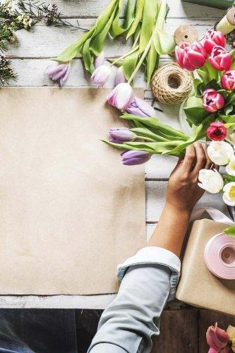 Florist Notebook