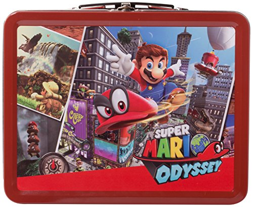 Collectible Lunchbox Kit for Nintendo Switch – Super Mario Odyssey: Cityscape Edition