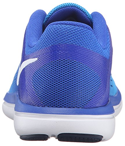 White Blue Women's Rcr 2016rn Flex Glow Outdoor Mid Bl Shoes Nvy Multisport Nike U8C4w