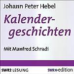 Kalendergeschichten   Johann Peter Hebel