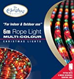 Benross The Christmas Lights 6m Chaser Rope Light - Multi-Coloure