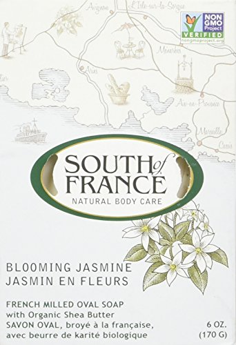 Bar Jasmine Soap - SOUTH OF FRANCE Blooming Jasmine Bar Soap, 0.02 Pound