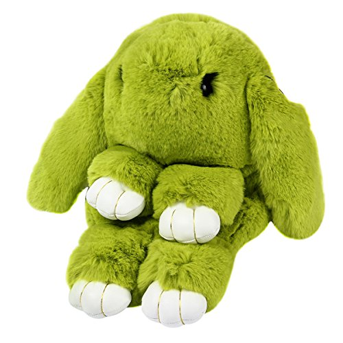 Rabbit Handbag Faux Shoulder Tote Purse Bag Women Cross Cute Yodensity Green Messenger Fur Body 6tqPZ5xw