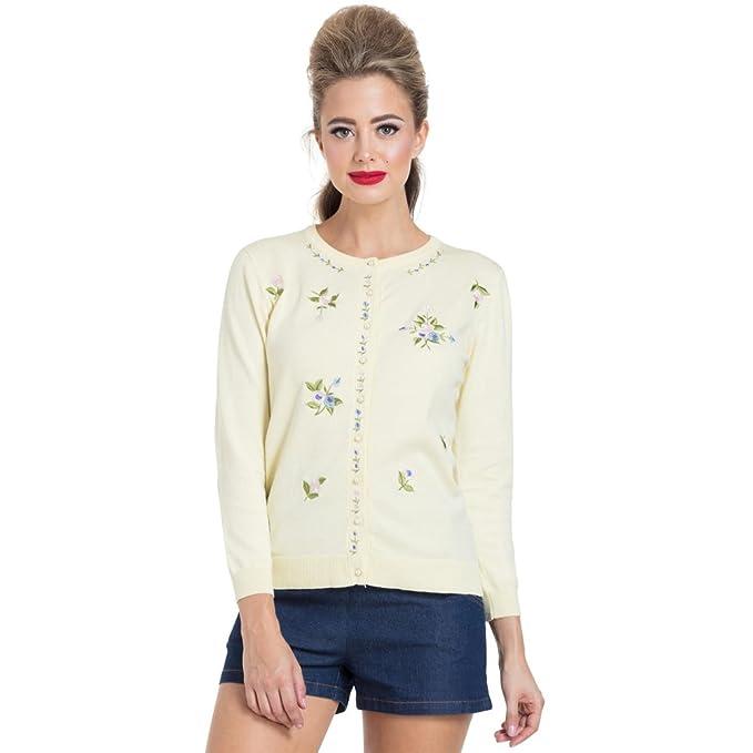 Amazon.com: Voodoo Vixen para mujer Ester Floral chaqueta de ...