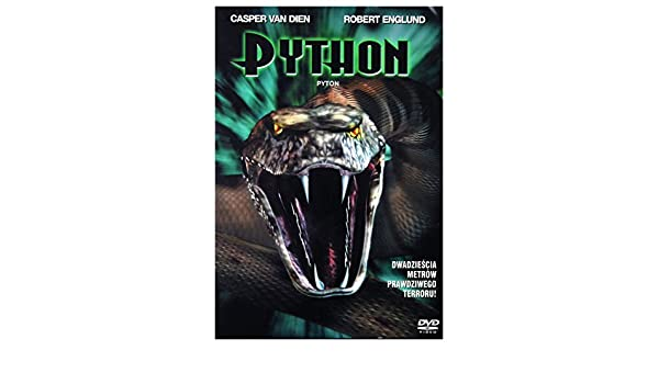 Python DVD Region 2 English audio by Frayne Rosanoff: Amazon.es: Cine y Series TV