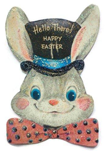 (Easter Tree Ornament Decoration Hoppy Bunny Rabbit Handmade Holiday Gift)