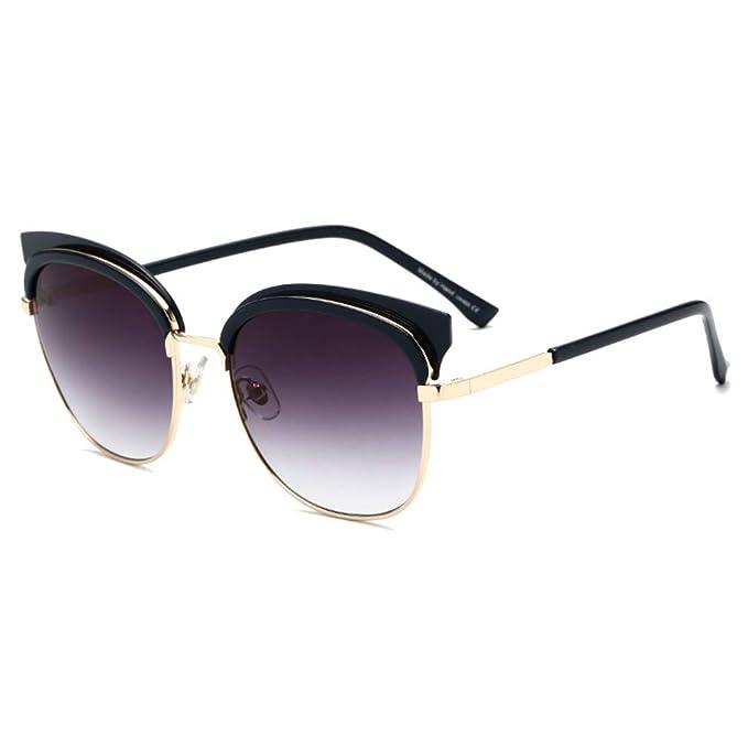 Yying Cateye Gafas de sol de las Mujeres de lujo de la ...